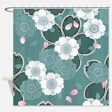 Cute Japanese Shower Curtain
