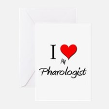 I Love My Pharologist Greeting Cards (Pk of 10)