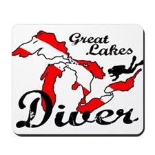 New Great Lakes Diver Mousepad