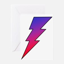 The Lightning Bolt 2 Shop Greeting Card