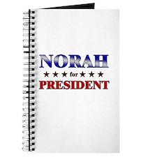 NORAH for president Journal