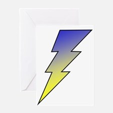 The Lightning Bolt 3 Shop Greeting Card