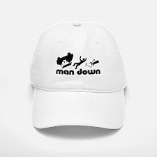 man down golfer Baseball Baseball Cap