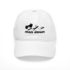 man down golfer Baseball Cap