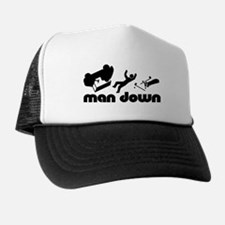 man down golfer Trucker Hat