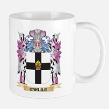 Carlile Coat of Arms (Family Crest) Mugs