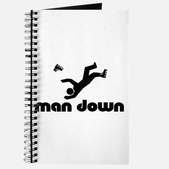 man down rollerblader Journal