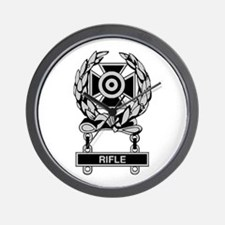 Army Rifle Expert Badge Wall Clock