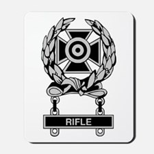 Army Rifle Expert Badge Mousepad