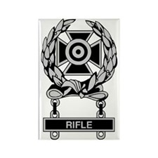 Army Rifle Expert Badge Rectangle Magnet
