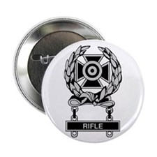 """Army Rifle Expert Badge 2.25"""" Button (10 pack)"""