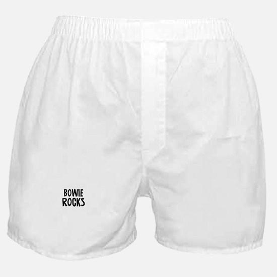 Bowie Rocks Boxer Shorts