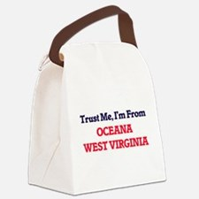Trust Me, I'm from Oceana West Vi Canvas Lunch Bag