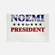 NOEMI for president Rectangle Magnet