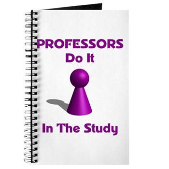 Professors Do It In The Study Journal