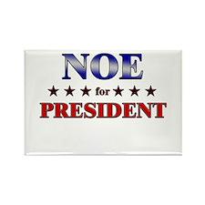 NOE for president Rectangle Magnet
