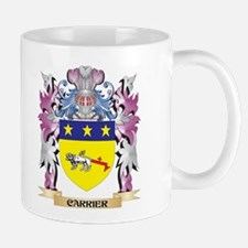 Carrier Coat of Arms (Family Crest) Mugs