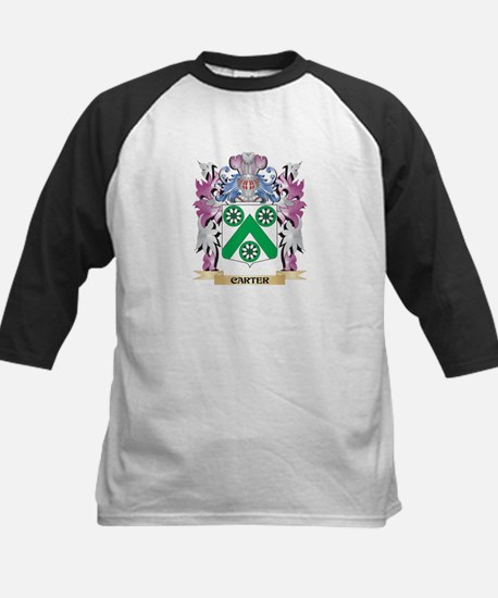 Carter Coat of Arms (Family Crest) Baseball Jersey