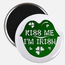 "Kiss Me I'm Irish 2.25"" Magnet (10 pack)"