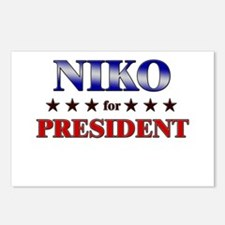 NIKO for president Postcards (Package of 8)