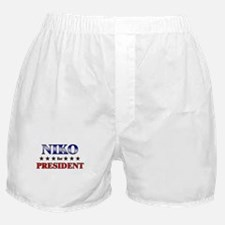 NIKO for president Boxer Shorts