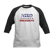 NIKO for president Tee
