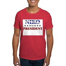 NIKO for president T-Shirt