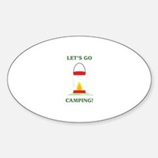 Go Camping Decal