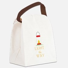 Light The Way Canvas Lunch Bag
