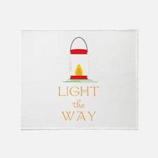 Light The Way Throw Blanket