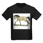 Buckskin Loping Kids Dark T-Shirt