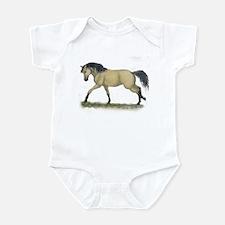 Buckskin Loping Infant Bodysuit