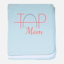 Tap Mom baby blanket