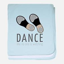 Dance baby blanket