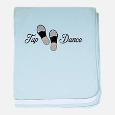 Tap Dance baby blanket