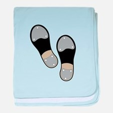 Tap Shoes baby blanket