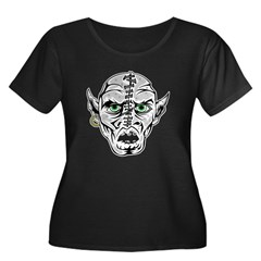 Sewn Up Ghoul Skull T