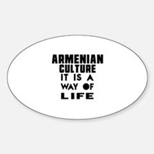 Armenian Culture It Is A Way Of Lif Decal