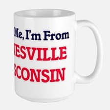 Trust Me, I'm from Janesville Wisconsin Mugs