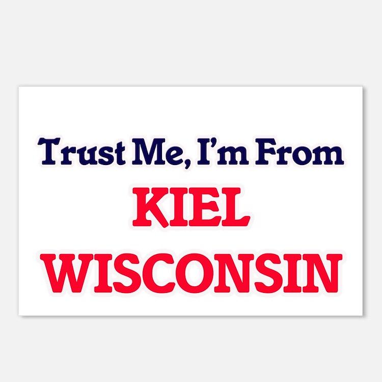 Trust Me, I'm from Kiel W Postcards (Package of 8)