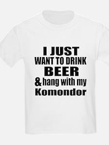 Hang With My Komondor T-Shirt