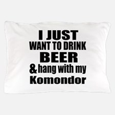 Hang With My Komondor Pillow Case