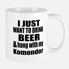 Hang With My Komondor Mug