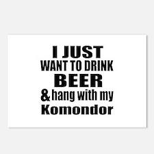 Hang With My Komondor Postcards (Package of 8)