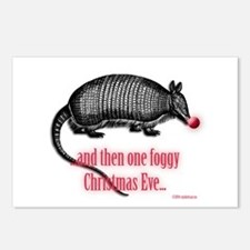 red nosed armadillo Postcards (Package of 8)