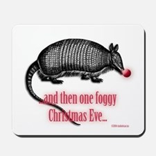 red nosed armadillo Mousepad