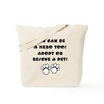 Dog Hero Tote Bag