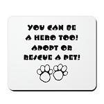 Dog Hero Mousepad