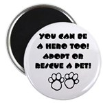 Dog Hero Magnet