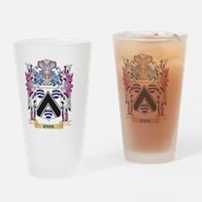 Cass Coat of Arms (Family Crest) Drinking Glass